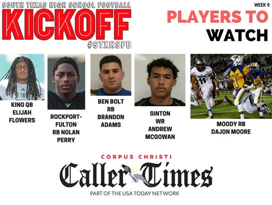 Players to watch Week 9