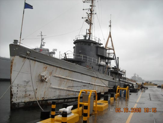 The decommissioned Tamaroa in 2009.