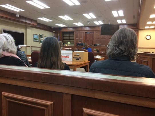 The Sturgeon Bay waterfront trial gets underway on
