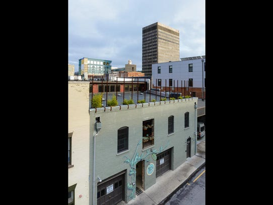 The $2.9 million, two-story condo is above Sweet Pea's