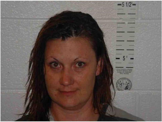 April Dawn Metcalf, 43, of Hendersonville was arrested