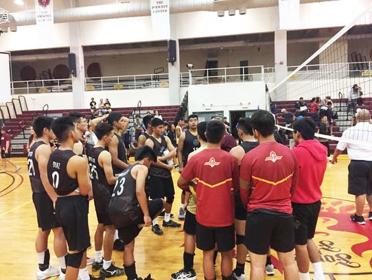 The FD Friars defeated the Okkodo Bulldogs in 3 sets,