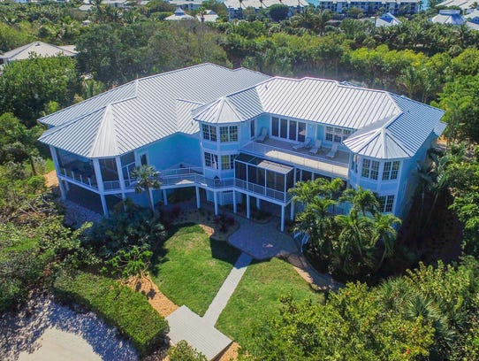 This home on Boca Grande was 4,500 square feet but
