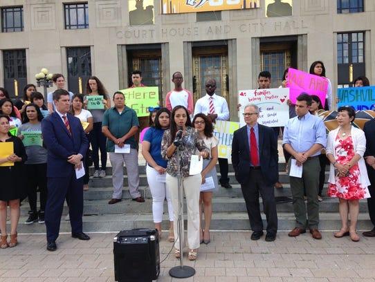 Nashville lawmakers, immigrant advocates and immigrant