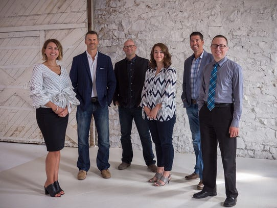 Click Rain's leadership, from left: Incoming CEO Natalie