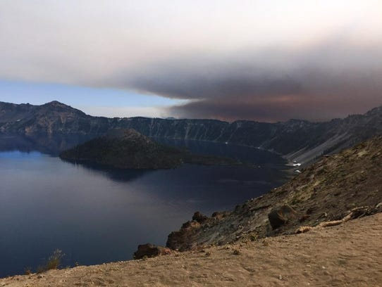 Crater Lake National Park's north entrance will close