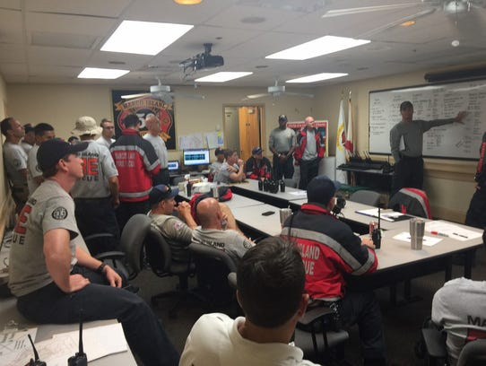The Marco Island Fire-Rescue Department prepares for