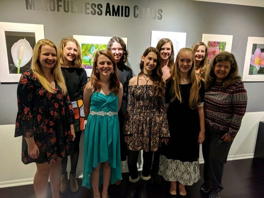 Piano students of Kathie Goodrich performed at the