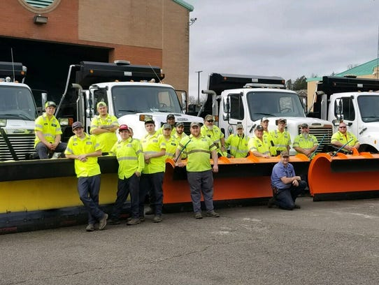 Employees with the Brentwood Public Works Department