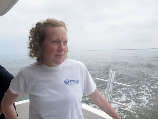 NY/NJ Baykeeper Debbie Mans has been tapped to be second