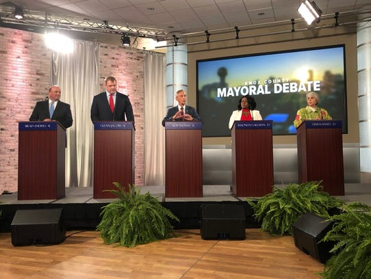 Candidates for Knox County mayor answered questions