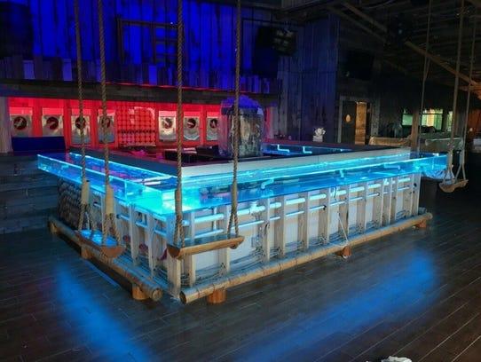 The new Bimini Bait Shack bar will double as a 350-gallon