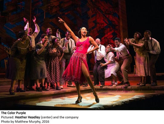 "Heather Headley in the Broadway revival of ""The Color"