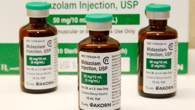 Tennessee plans to use a compounded version of the drug midazolam in its next execution. The state joined 14 others Monday in filing a legal document asking a Nevada judge to not let midazolam's manufacturer stop an execution.