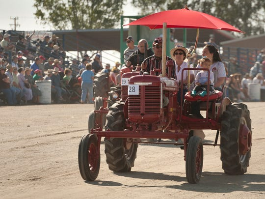 California Antique Farm Equipment Show at the International Agri-Center in Tulare on Saturday, April 18, 2015.