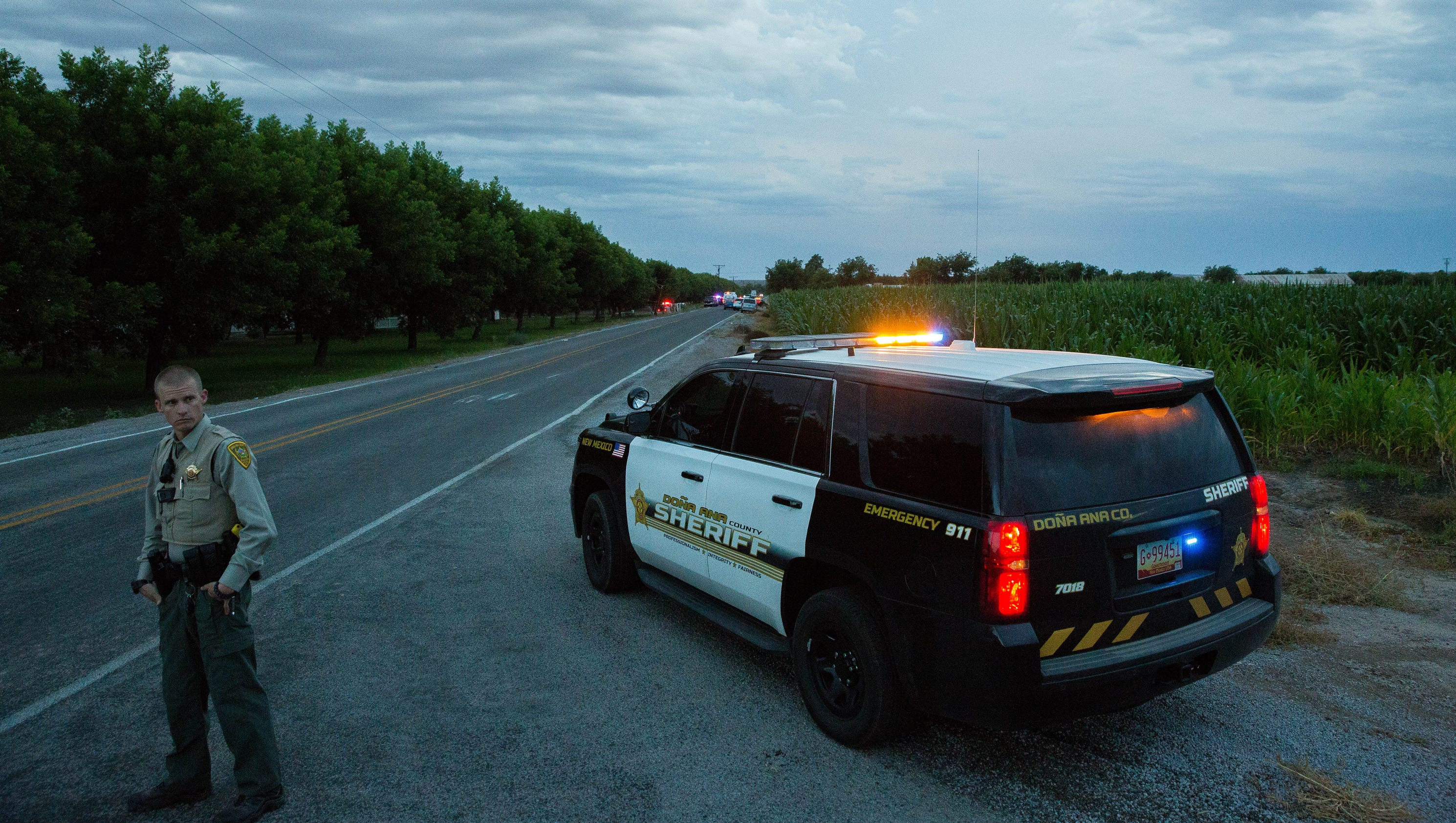 Car chase through las cruces ends with crash one detained for Chaise auto