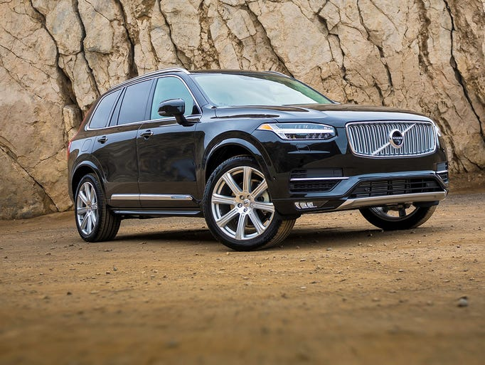 The all-new 2016 Volvo XC90 is a seven-seat luxury