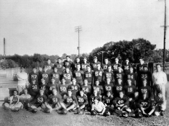"""Leon High's 1937 football team was the first team in its 100-year history to win a state title, although it was dubbed """"mythical"""" because state playoffs weren't created until 1963."""