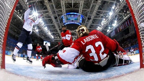 Canada's women's hockey team.