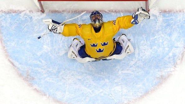 Sweden's hockey team