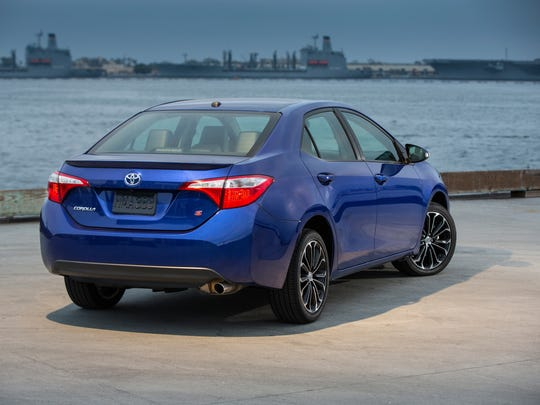 With a smooth, relatively formal body and subtle rear spoiler, the 2014 Toyota Corolla S is sporty enough for young drivers and conservative enough for traditional Corolla owners.