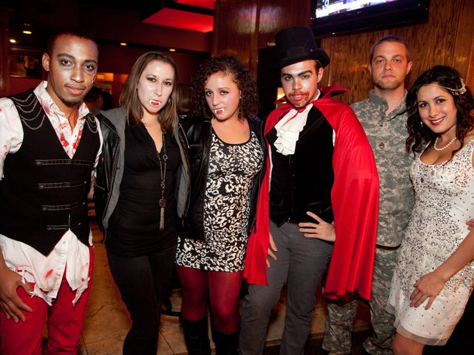60 West Bistro & Martini Bar hosted the Boo-ze Spooktacular on Halloween, Thursday night. Guests enjoyed $5 martinis while in costume.