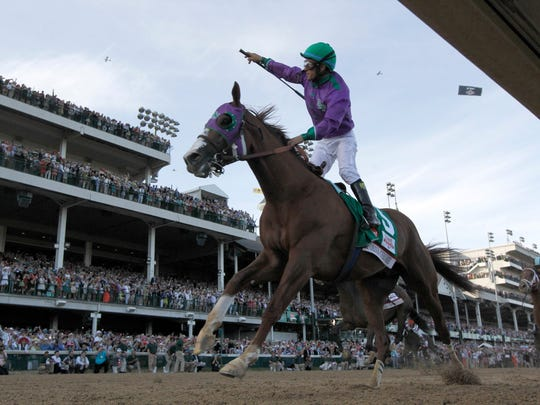 California Chrome wins the 140th Kentucky Derby.
