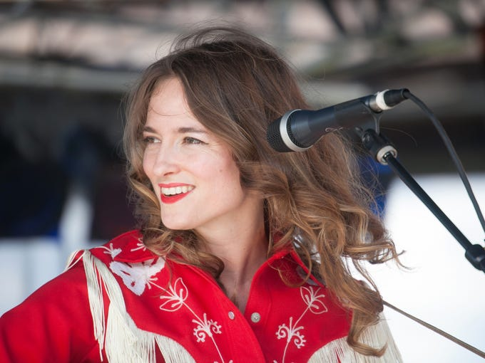 Dawn Landes plays WFPK's Waterfront Wednesday. June 25, 2014