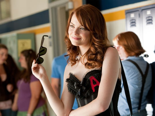 """Emma Stone stars as Olive Penderghast in a scene from, """"Easy A."""""""