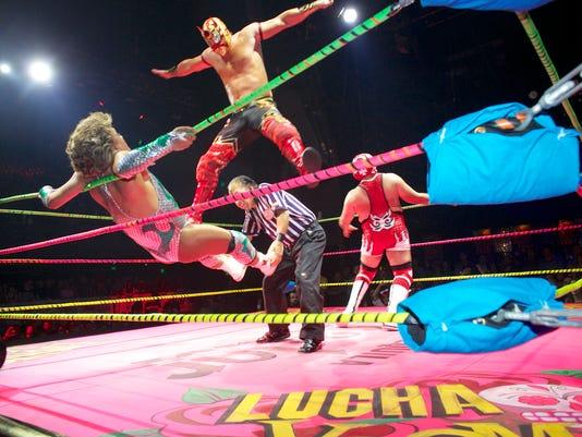 LA wrestling
