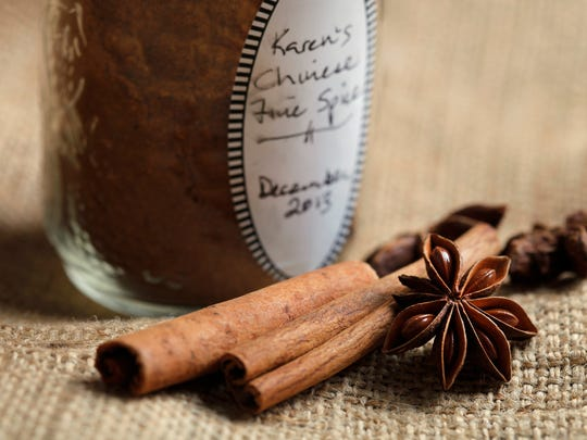 Karen Miltner's Chinese Fire Spice mixture includes the spices star anise and cinnamon.