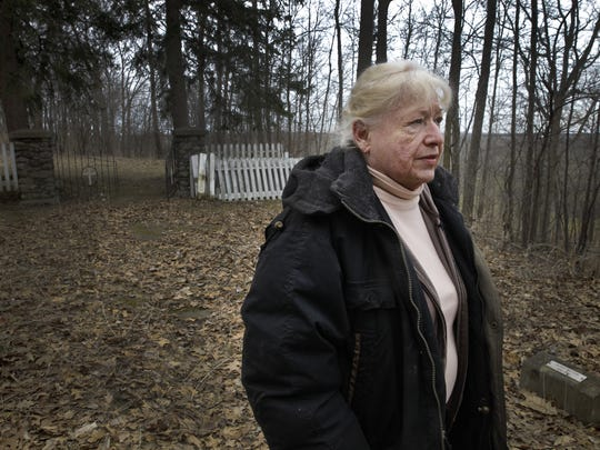 Patricia-Jo Weaver bought 71 acres of land -- which included the cemetery where the bodies of 14 boys from the State Agricultural and Industrial School are buried -- from the state in 1993.