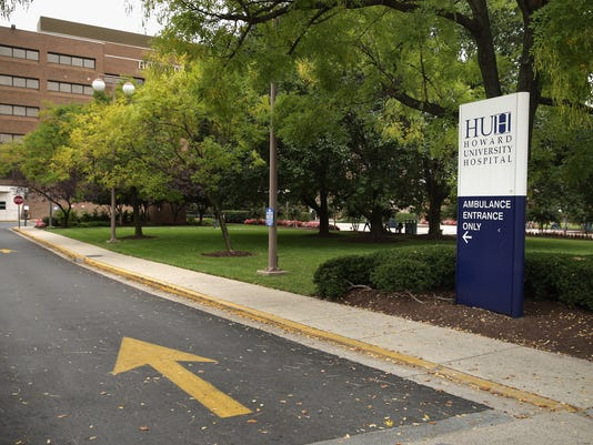 D.C. hospital admits patient with Ebola-like symptons