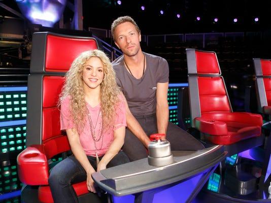 Shakira Chris Martin