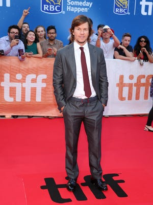 Mark Wahlberg at the Toronto International Film Festival premiere of 'Deepwater Horizon.'