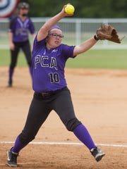 Prattville Christian's Hayden Law pitches against Ohatchee