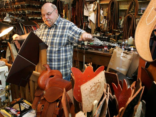 Dennis Knight of River Ridge Leather in Roscoe Village