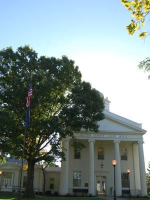 The Independence Courthouse.