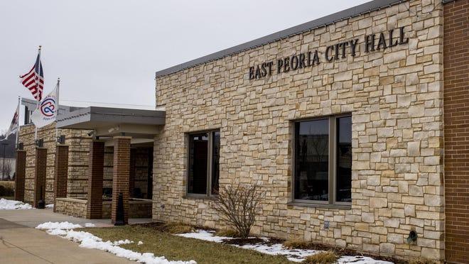 East Peoria City Hall.