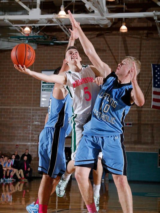 Lansing Catholic at Williamston basketball