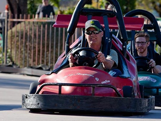 CrackerJax in Scottsdale offers two go-kart tracks:
