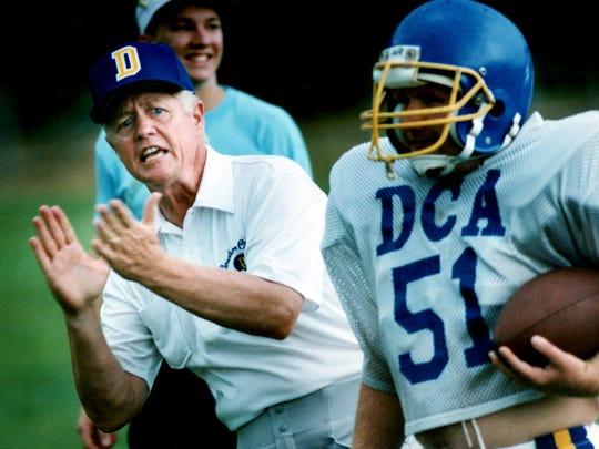 Aug. 10, 1991: Former Vanderbilt coach George MacIntyre