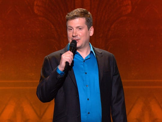 """Dave Landau performs on NBC's """"Last Comic Standing."""" Landau will do stand-up this Saturday at the Lexington Village Theatre."""