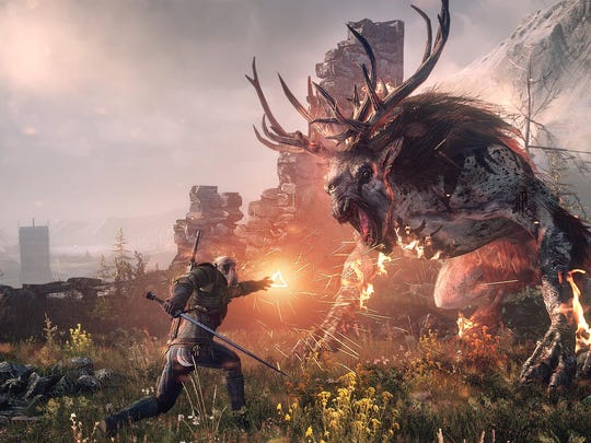 """The """"Witcher"""" series of role-playing games is based on a series of stories and novels by Polish author Andrzej Sapkowski."""
