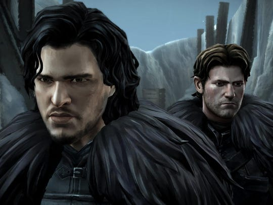 """Jon Snow makes an appearance on The Wall in """"Game of Thrones Episode 2: The Lost Lords."""""""