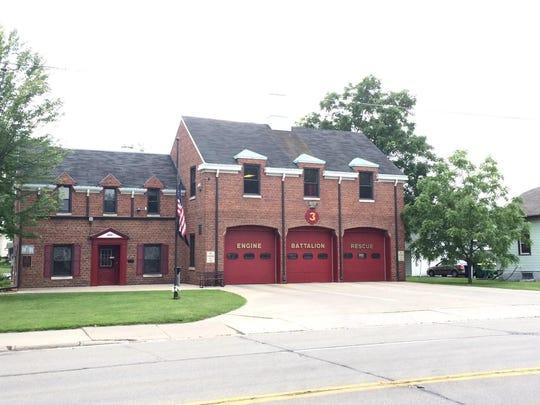 Green Bay Metro Fire Station No. 3, 885 Shawano Avenue.