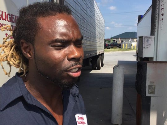"Leon Peterson, a North Carolina truck driver whose work takes him through Middletown ""every other day,"" said he might try to avoid the proposed U.S. 301 if tolls are too high."