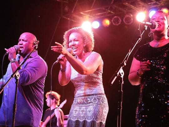 10 of Soul performs at the 2014 Iowa Soul Festival on Sept. 20, 2014, in Iowa City.