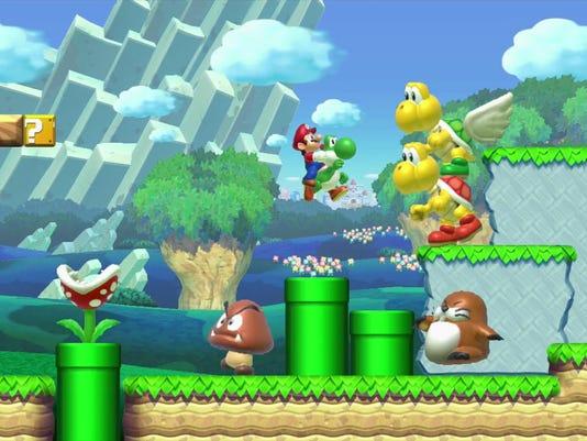 Games-Mario Maker