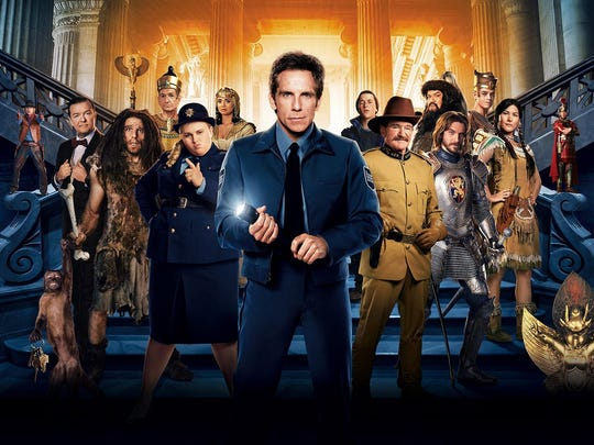"""""""Night at the Museum: Secret of the Tomb"""" is the feature for Movie in the Park on Oct. 17."""